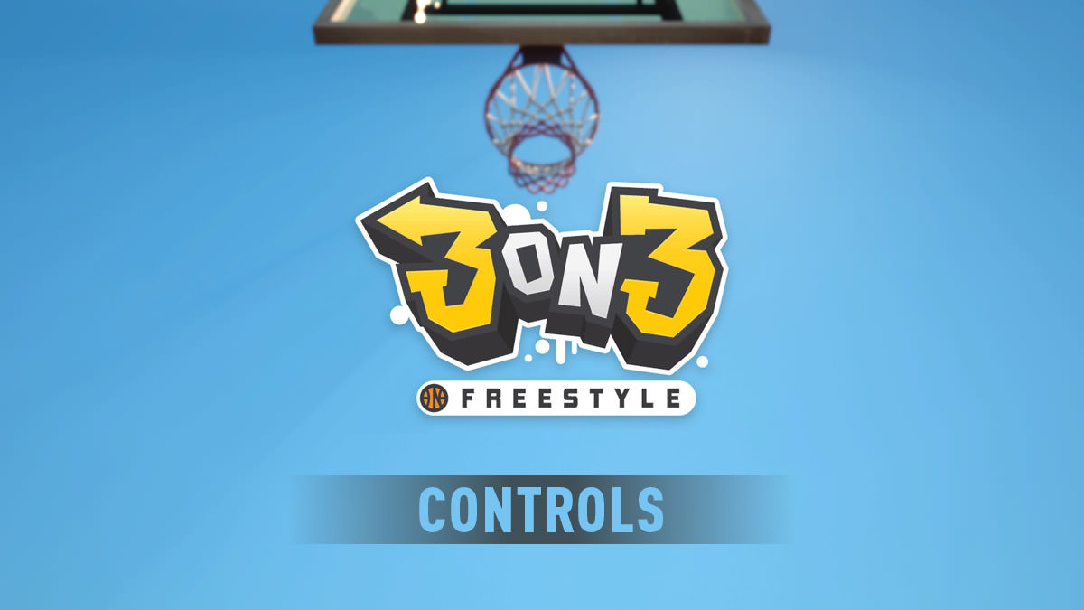 3on3 Freestyle Controls