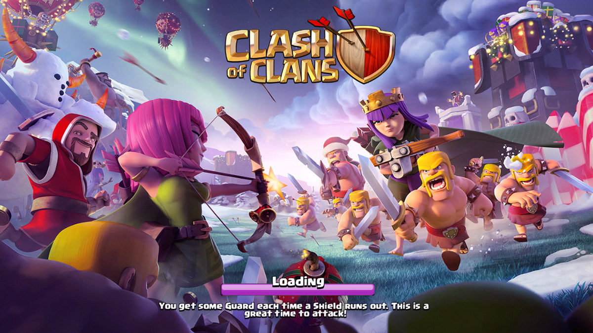 Clash of Clans Christmas