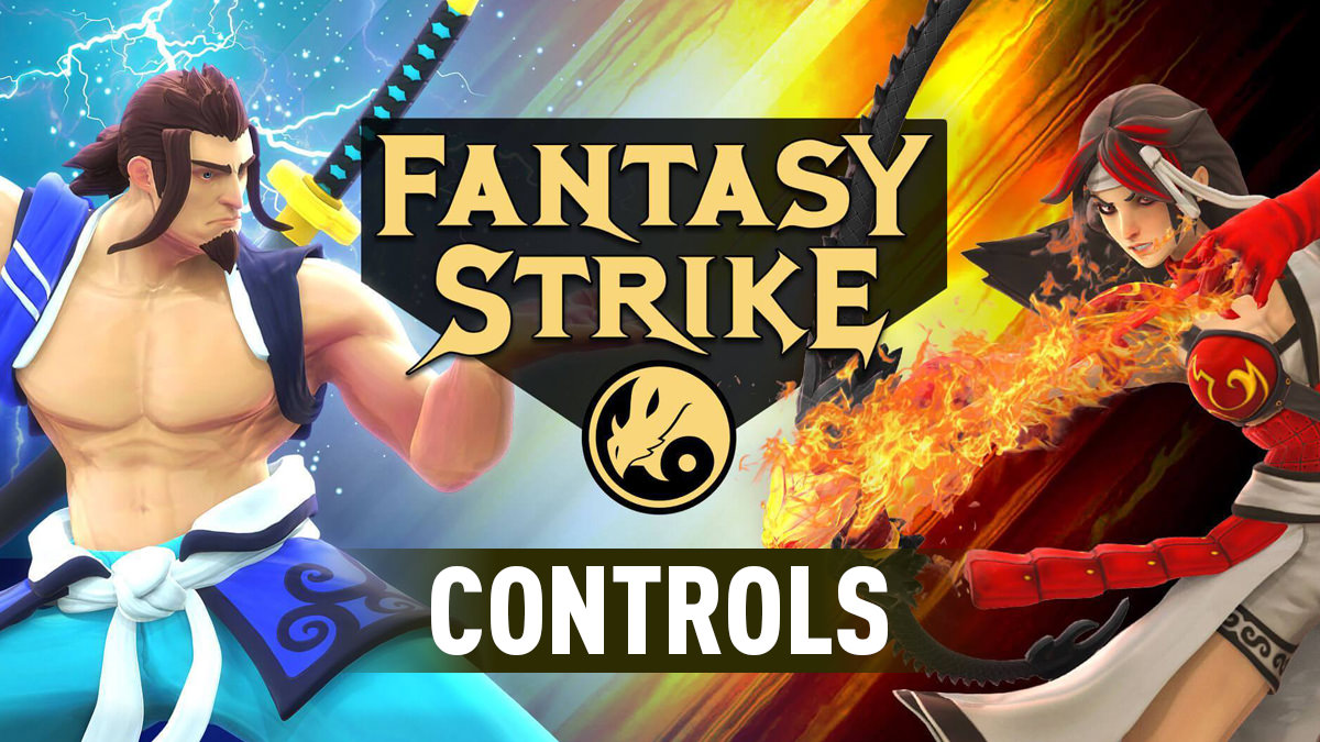 Fantasy Strike – Controls