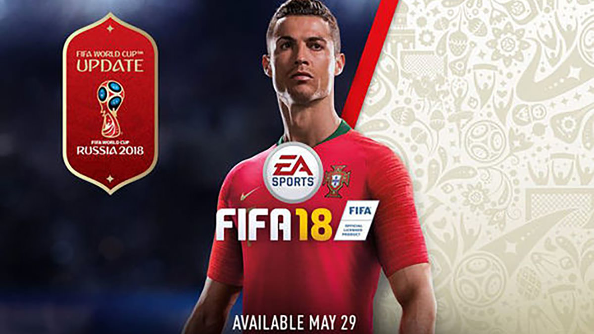 World Cup Update for FIFA 18 is Available Now