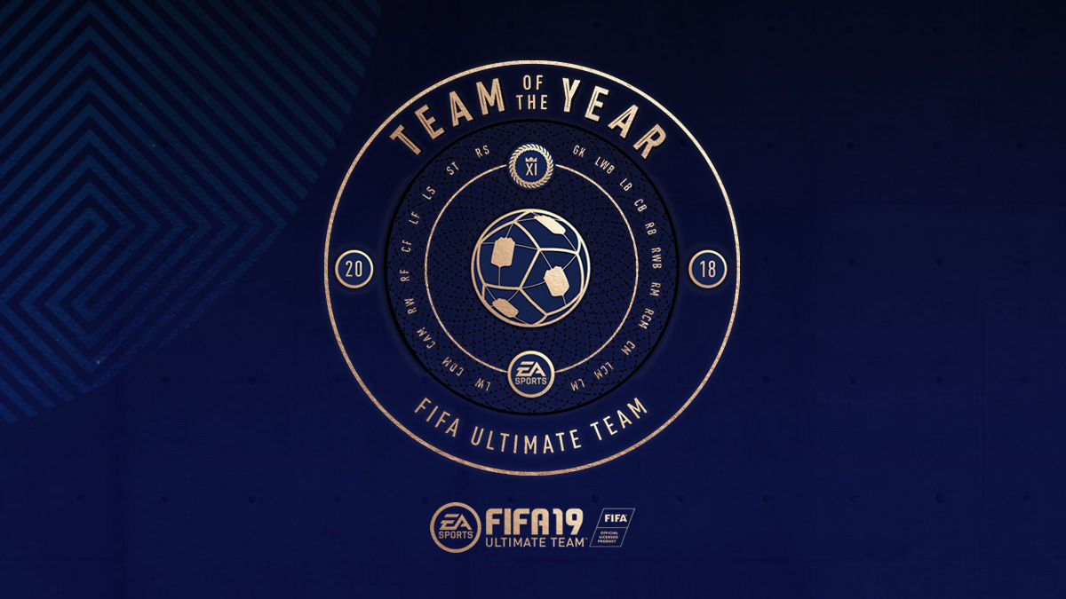 Vote for FIFA 19 Team of the Year – TOTY