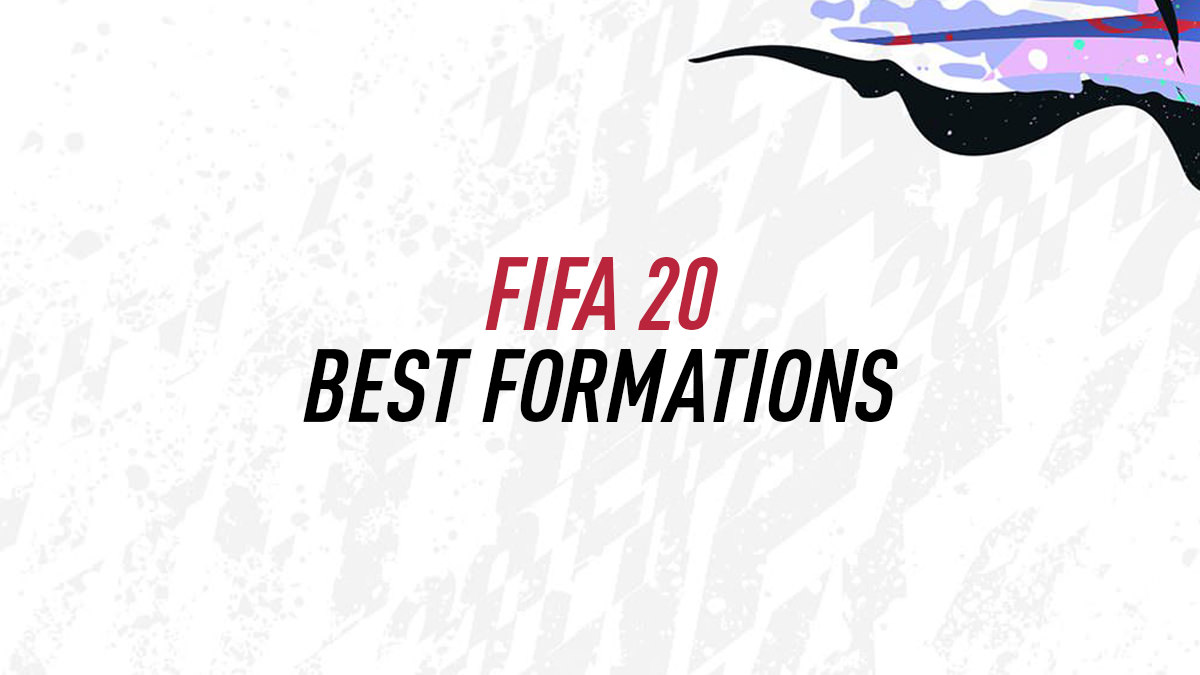 FIFA 20 Best Formations