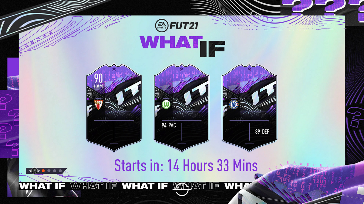 WHAT IF Promo Event in FIFA 21