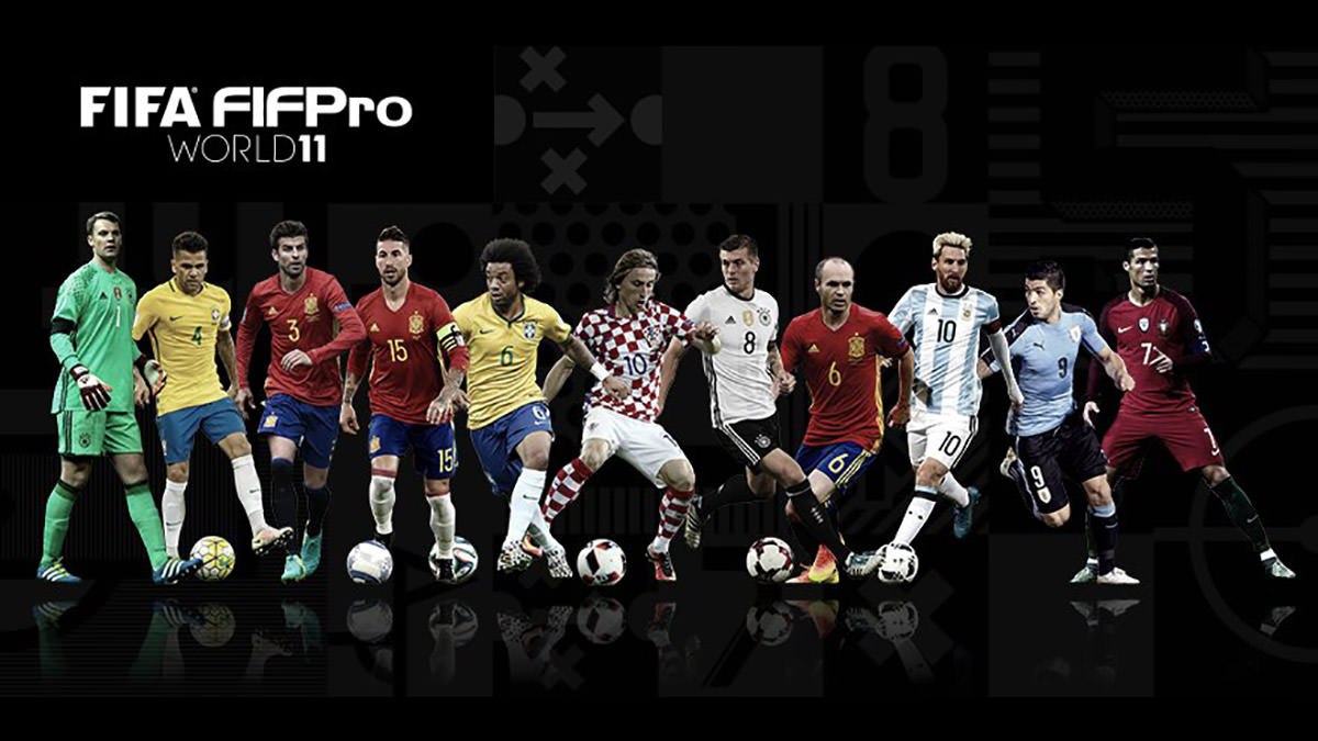 FIFA FIFPro World 11 – Team of the Year 2016