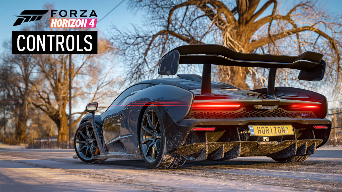 Forza Horizon 4 – Controls