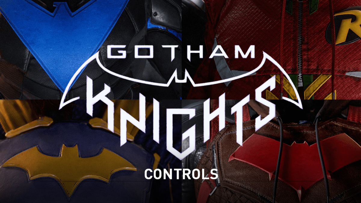 Gotham Knights Controls