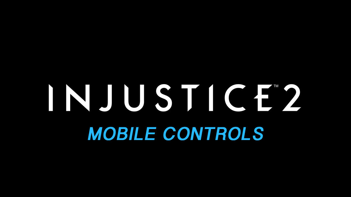 Injustice 2 Controls