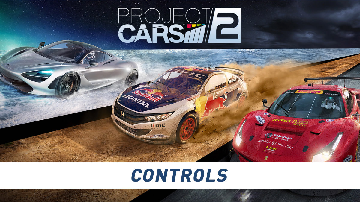 Project Cars 2 Controls