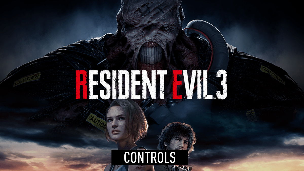 Resident Evil 3 Controls