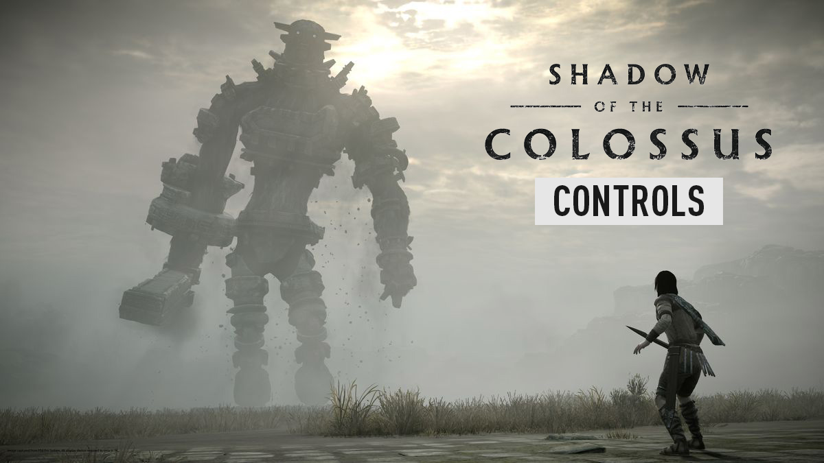 Shadow of the Colossus – Controls