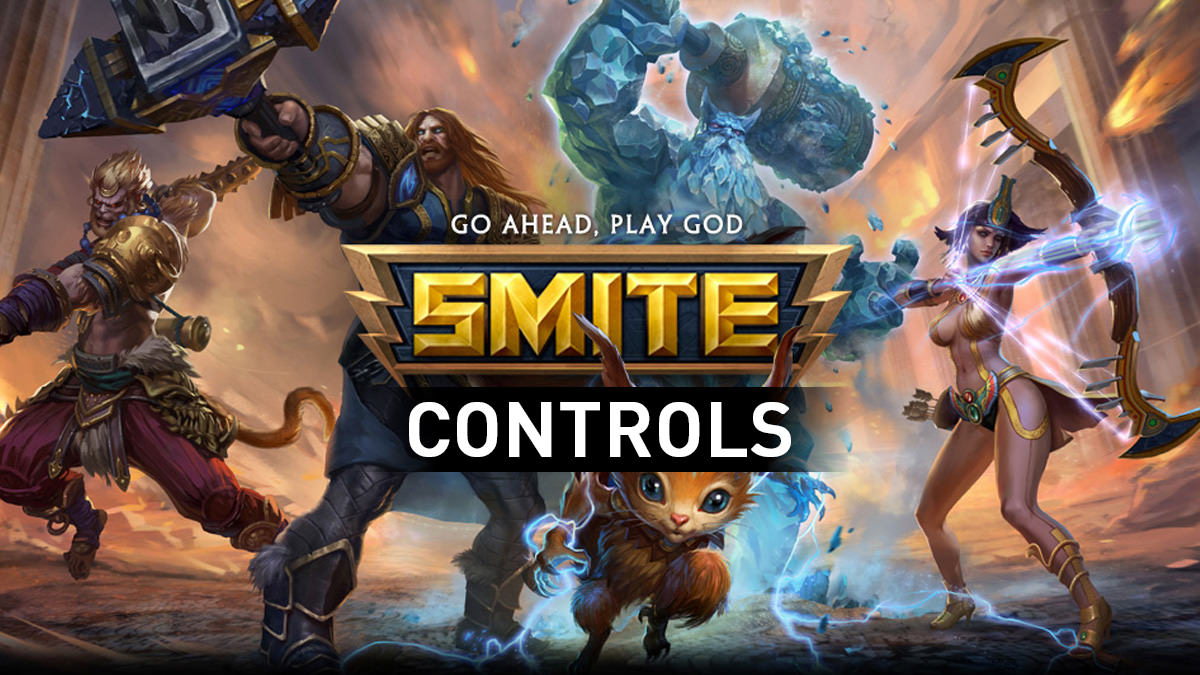 Smite Guide And Layout For PS4 Xbox One PC Here You Can Find All Move Attack List Button Game