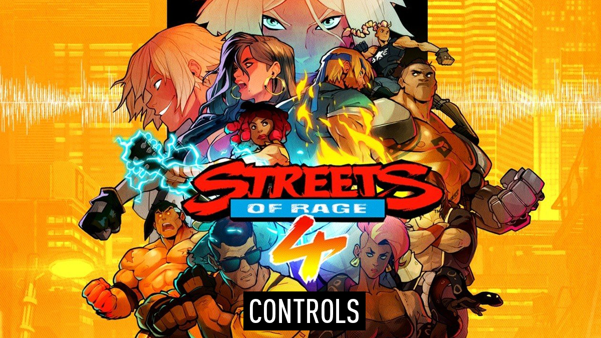 Streets of Rage 4 Controls