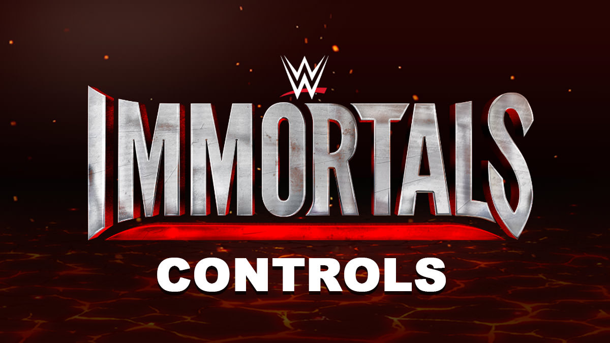 WWE Immortals Controls